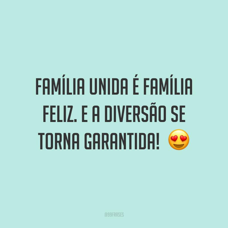 Família unida é família feliz. E a diversão se torna garantida!  😍