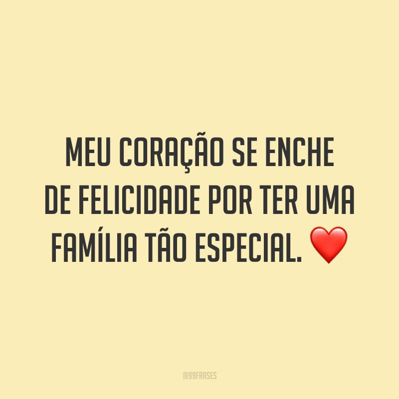 Meu coração se enche de felicidade por ter uma família tão especial. ❤️